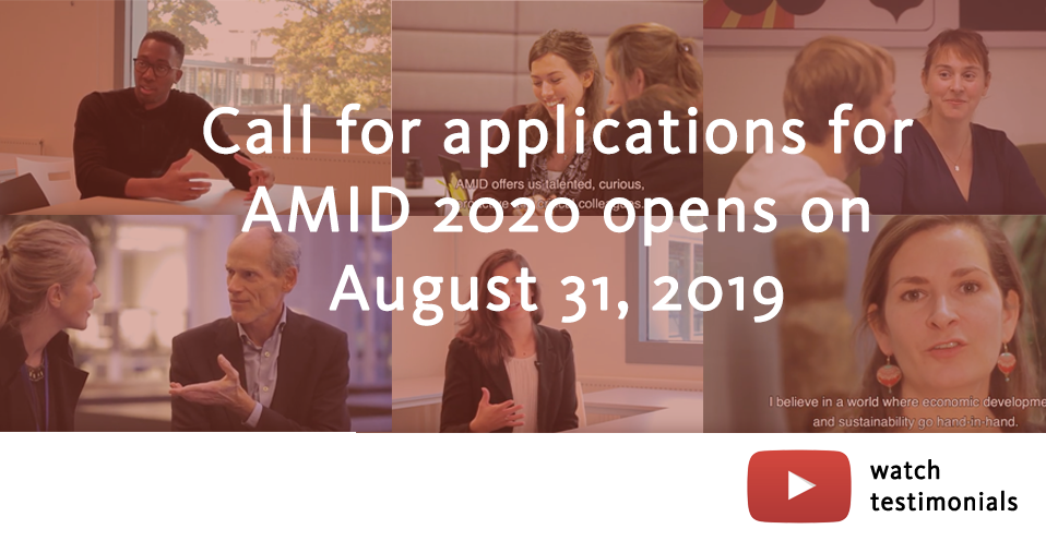 AMID call for applications 2020